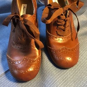 American Eagle Shoes - NWT American Eagle Lace Up Heels